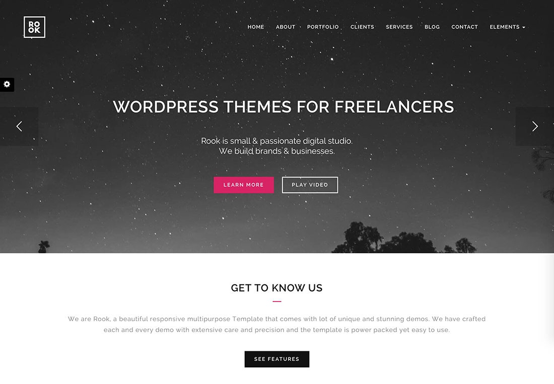 WordPress Themes for Freelancers, Programmers, Graphics Designers