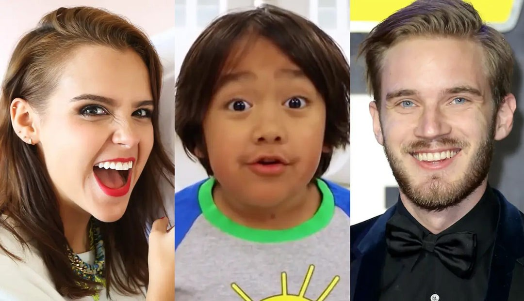 10 most popular YouTube stars in the world